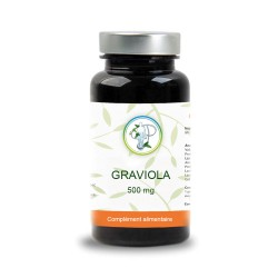 Graviola 500 mg d'extrait ratio 10/1