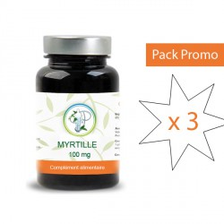 Myrtille 25% 100 mg - Pack x3